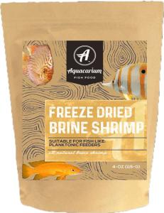 Aquacarium Brine Shrimp Freeze Dried Bulk Tropical Fish Food