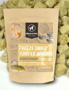 Aquacarium Tubifex Worms Freeze Dried Bulk Tropical Fish Food