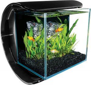MarineLand Silhouette Glass 3 Gallon LED Aquarium Kit
