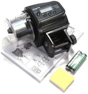 MECO Aquarium Automatic Fish Food Tank Feeder Timer With Battery