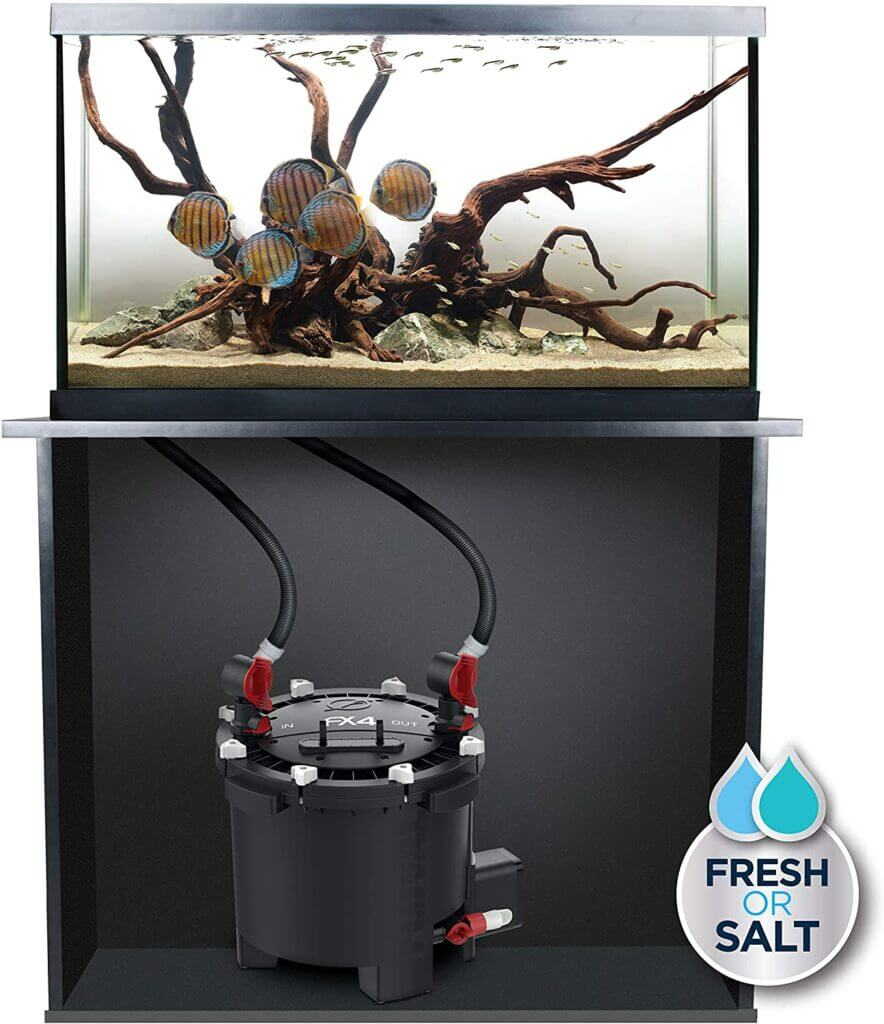 Fluval FX4 Filter aquarium