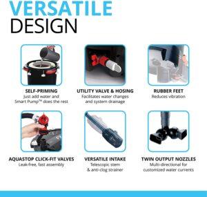 Fluval FX4 Versatile Design